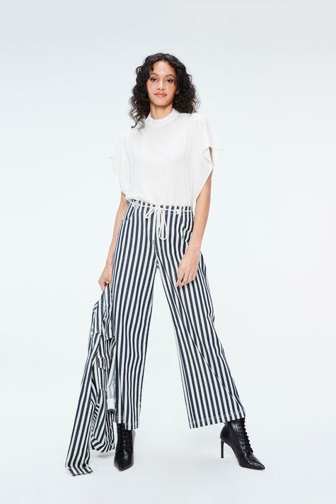 Calca-Jeans-Pantalona-Cropped-Listrada-Frente--