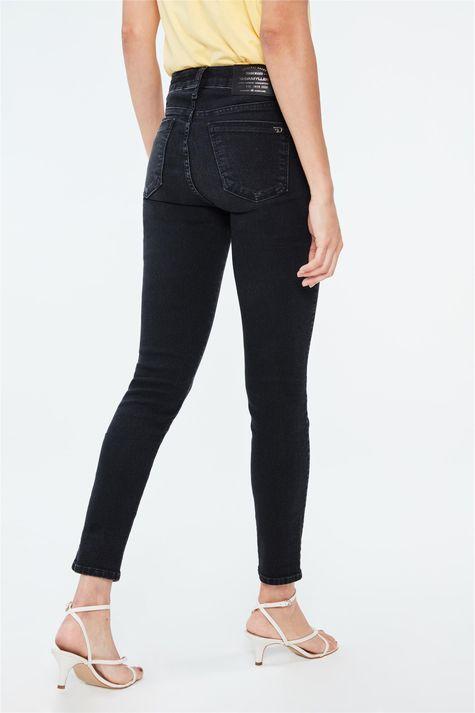 Calca-Jeans-Escura-Cropped-Cintura-Alta-Costas--