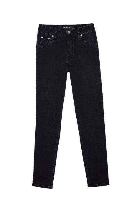 Calca-Jeans-Escura-Cropped-Cintura-Alta-Detalhe-Still--