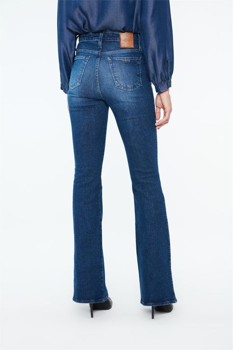 Calca-Jeans-Escuro-Boot-Cut-Cintura-Alta-Costas--