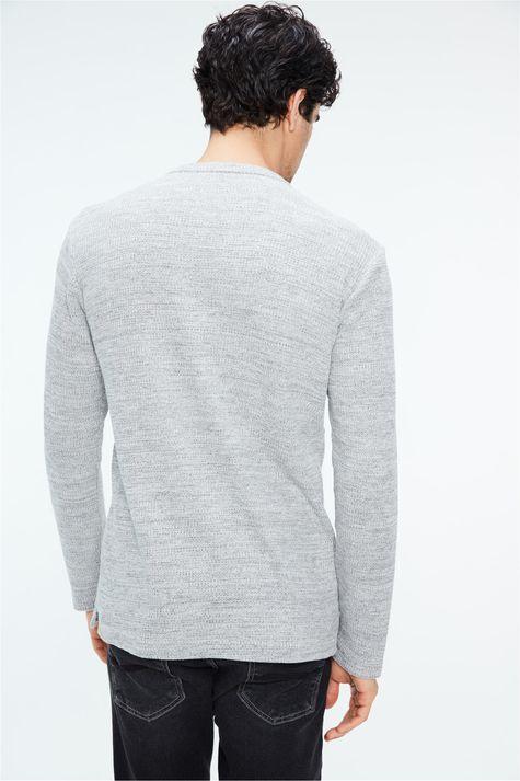 Camiseta-de-Trico-Cinza-Masculina-Costas--