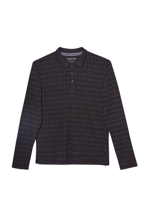 Camisa-Polo-Manga-Longa-Xadrez-Masculina-Detalhe-Still--