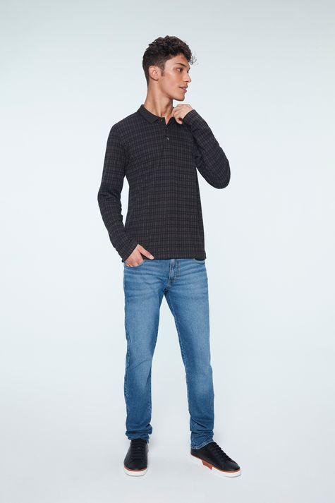 Camisa-Polo-Manga-Longa-Xadrez-Masculina-Detalhe-1--