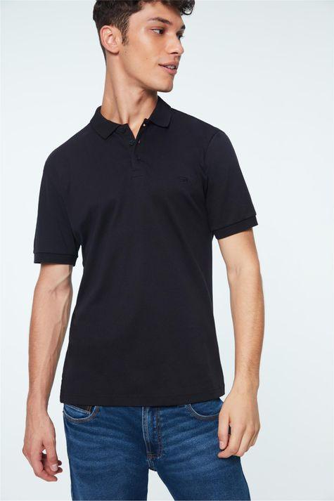 Camisa-Polo-Medium-Lisa-Masculina-Detalhe--