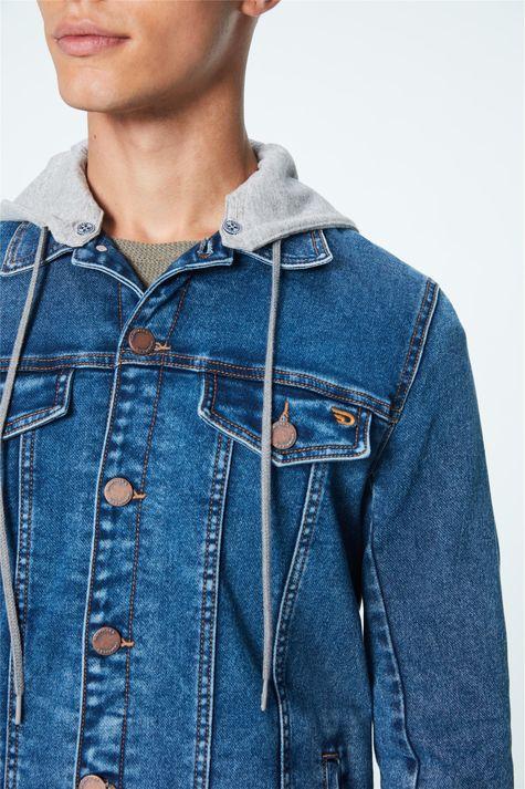 Jaqueta-Jeans-Trucker-de-Capuz-Masculina-Frente--