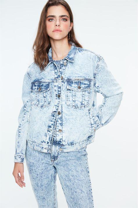 Jaqueta-Jeans-Trucker-Bleach-Frente--