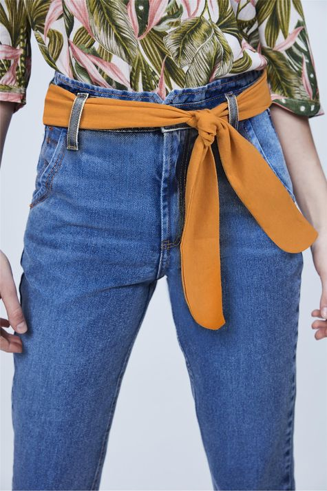 Calca-Jeans-Clochard-Cropped-com-Lenco-Frente--