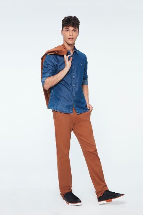 Camisa-Jeans-Azul-Medio-Masculina-Detalhe-2--