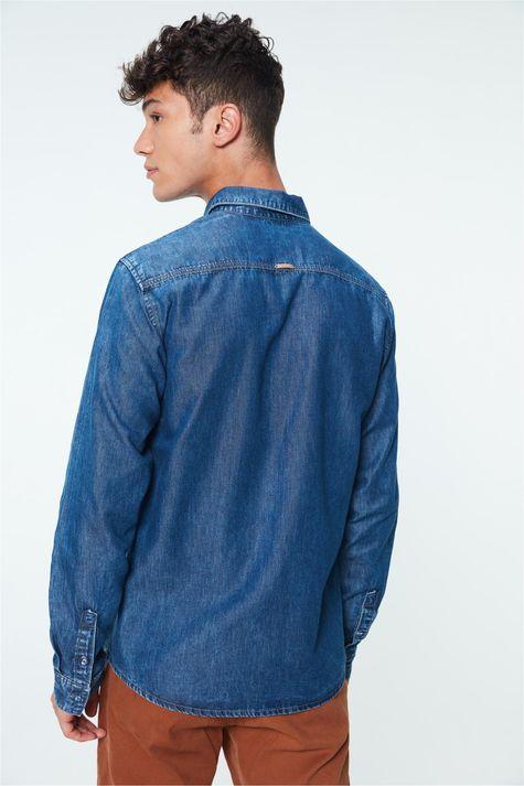 Camisa-Jeans-Azul-Medio-Masculina-Costas--