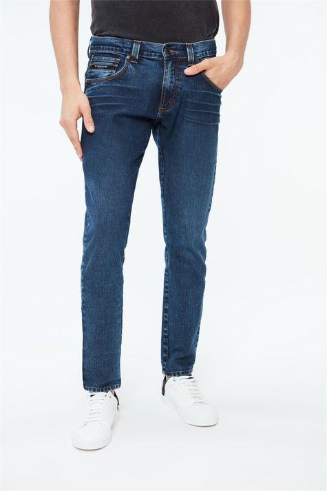 Calca-Jeans-Escuro-Skinny-Masculina-Detalhe--