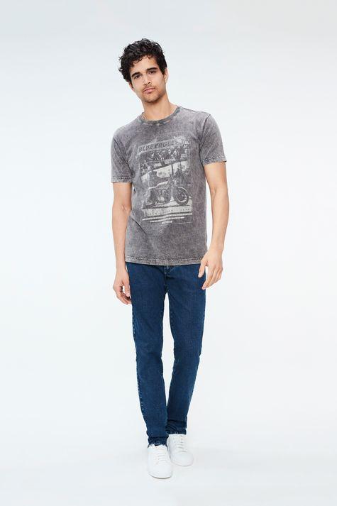 Camiseta-Estonada-com-Estampa-Blue-Eagle-Detalhe-1--