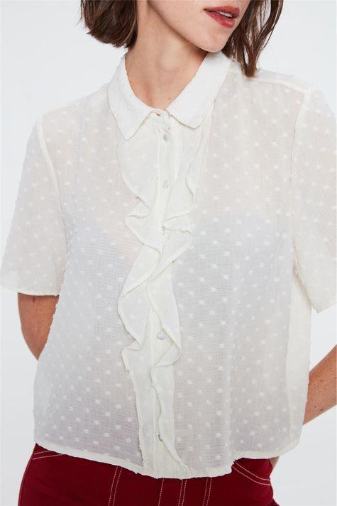 Camisa-de-Crepe-de-Bolinhas-com-Babados-Detalhe--
