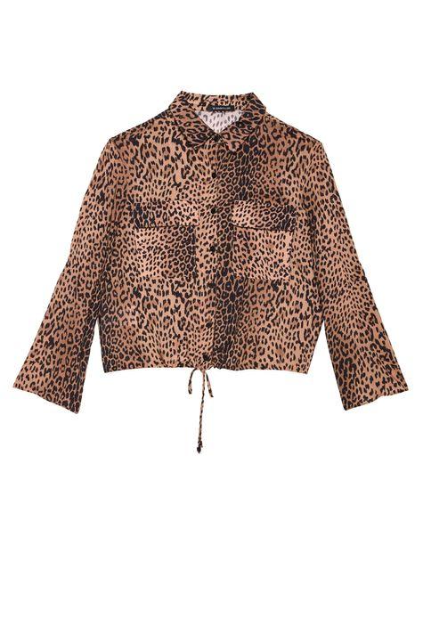 Camisa-com-Estampa-de-Onca-Feminina-Detalhe-Still--