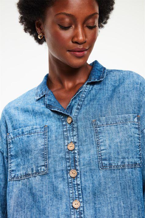Camisa-Jeans-Manga-3-4-Ecodamyller-Detalhe--