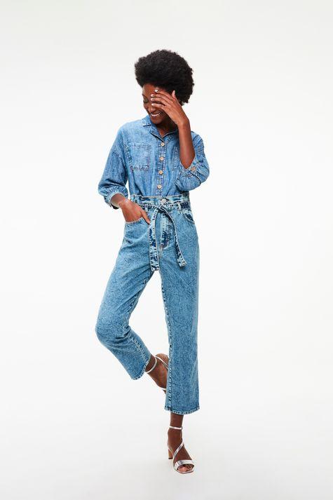 Camisa-Jeans-Manga-3-4-Ecodamyller-Detalhe-1--