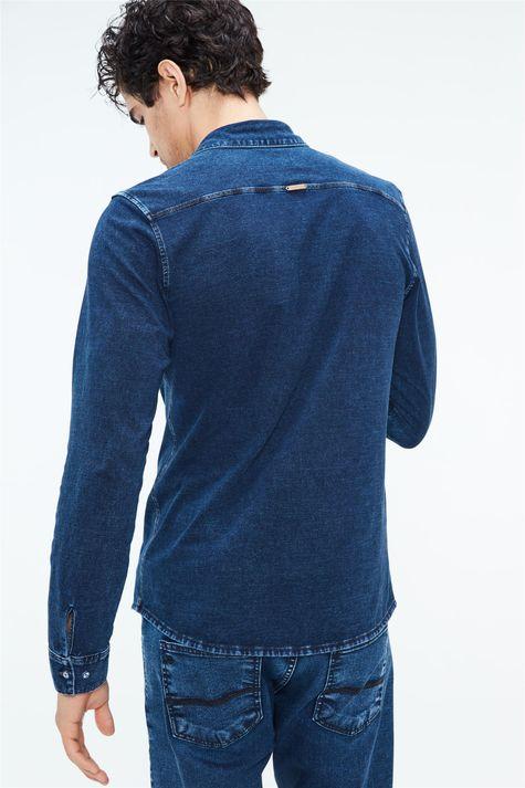 Camisa-de-Malha-Denim-Masculina-Costas--
