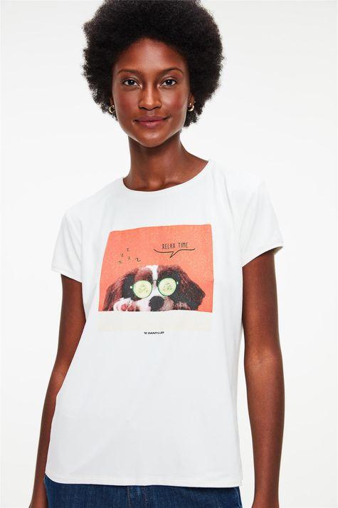Camiseta-de-Suede-com-Estampa-Relax-Time-Costas--