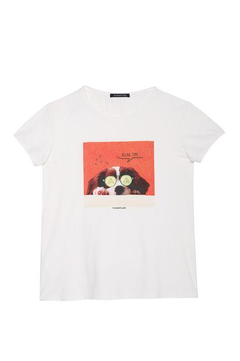 Camiseta-de-Suede-com-Estampa-Relax-Time-Detalhe-Still--