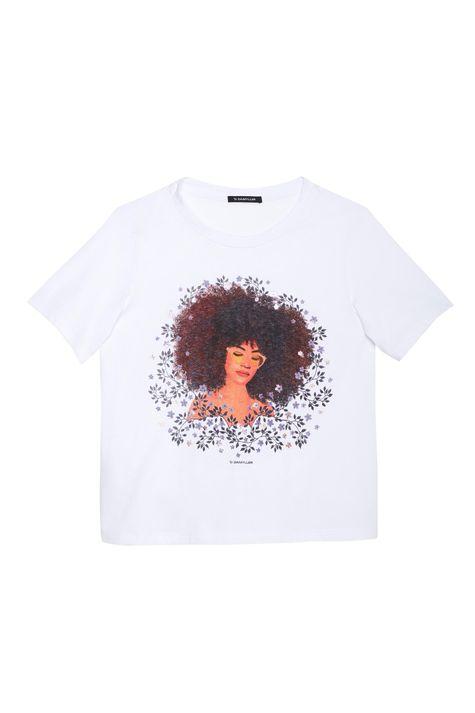 Camiseta-com-Estampa-de-Mulher-e-Flores-Detalhe-Still--