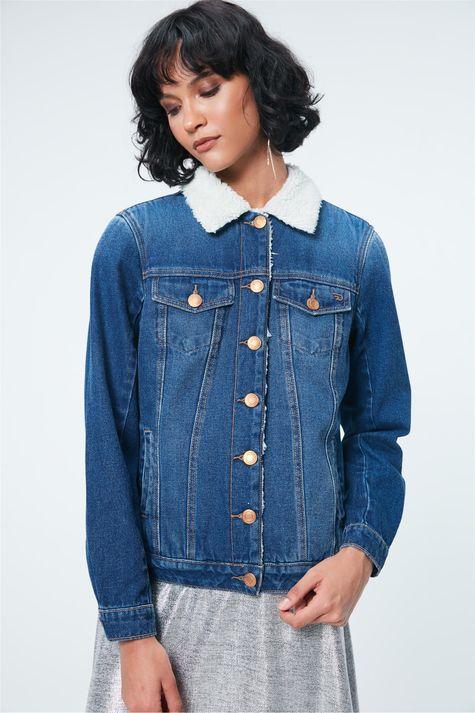 Jaqueta-Jeans-com-Pelo-Feminina-Costas--