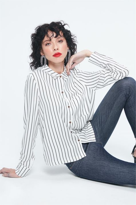 Camisa-Feminina-de-Listras-Ecodamyller-Frente--