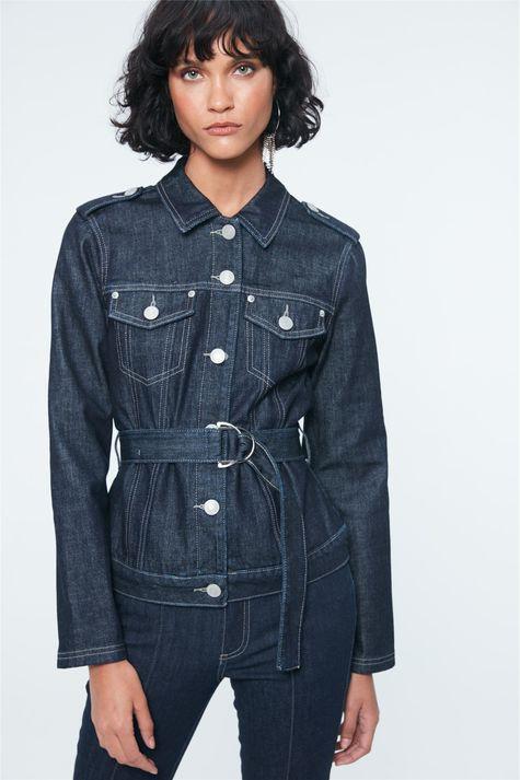 Jaqueta-Jeans-Trucker-com-Cinto-Detalhe--