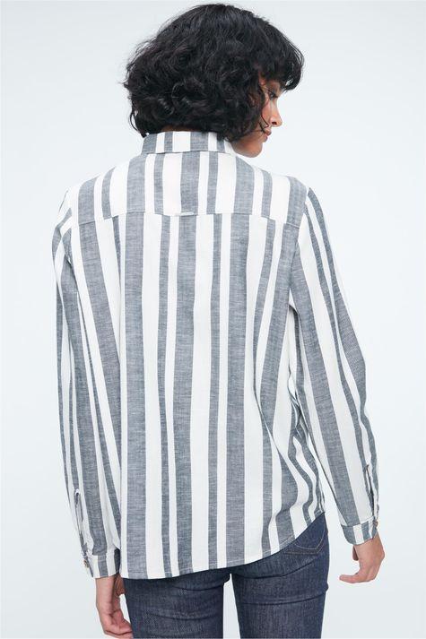 Camisa-Listrada-Feminina-Ecodamyller-Detalhe--