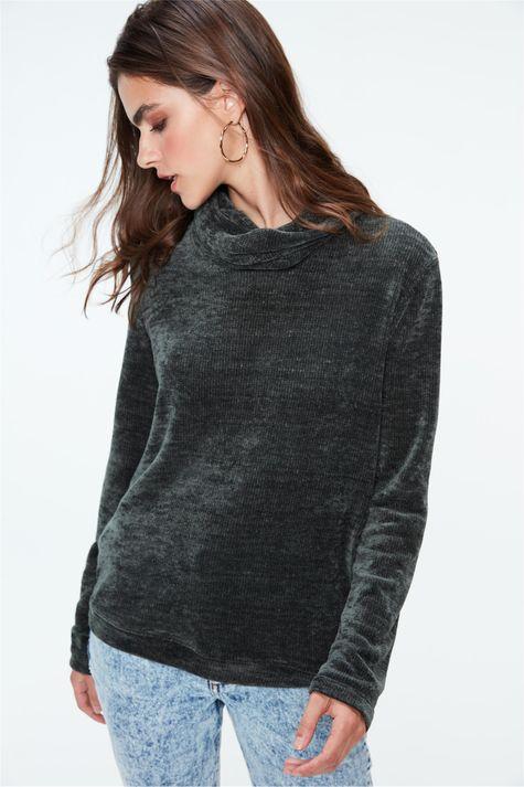 Blusa-de-Tricot-Canelado-Feminina-Detalhe-1--