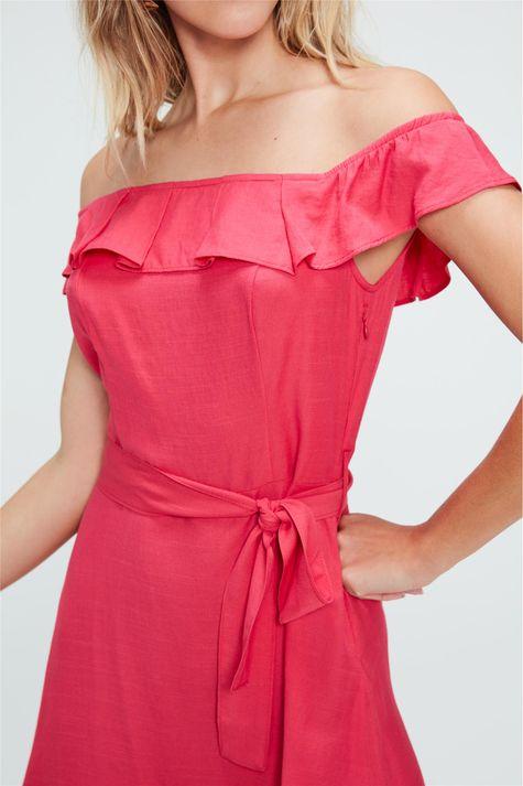 Vestido-Medio-com-Babados-Rosa-Detalhe--