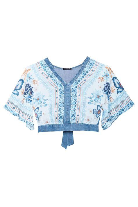 Blusa-Solta-Jeans-Estampa-de-Flores-Azul-Detalhe-Still--