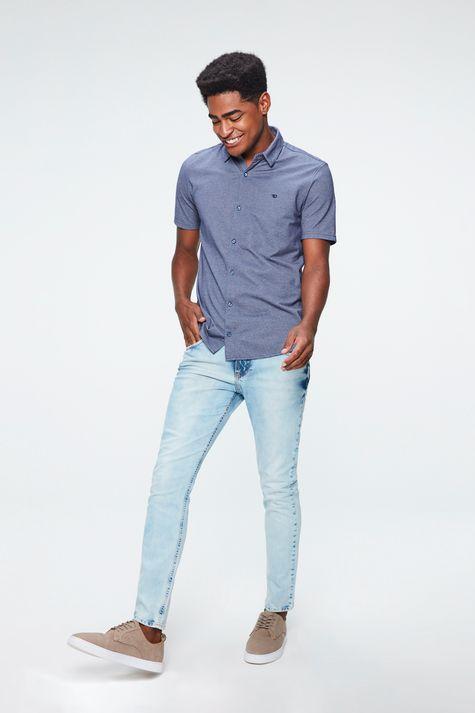 Camisa-de-Algodao-Manga-Curta-Masculina-Detalhe-1--