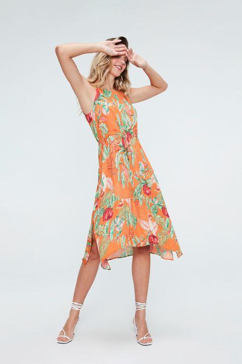 Vestido-Midi-com-Estampa-Tropical-Frente-1--
