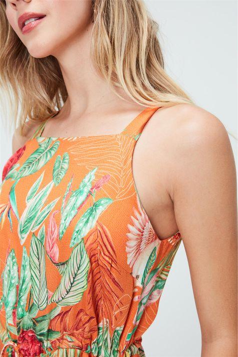 Vestido-Midi-com-Estampa-Tropical-Detalhe--