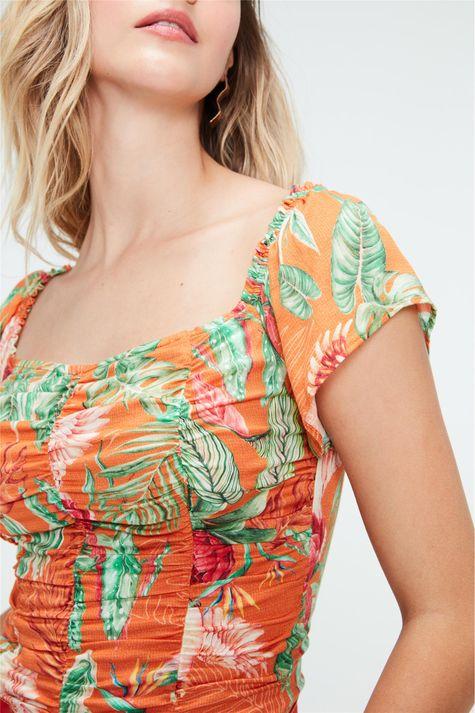 Blusa-Cropped-Ciganinha-Estampa-Tropical-Detalhe--