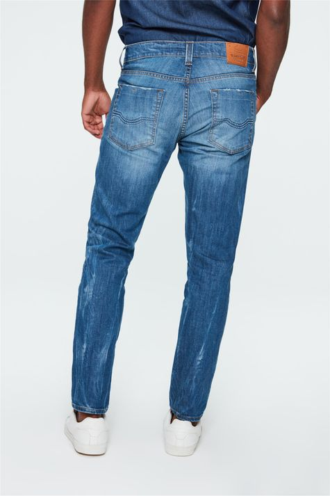 Calca-Jeans-Skinny-com-Puidos-Masculina-Costas--