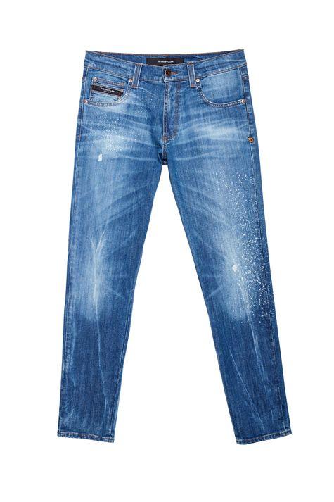 Calca-Jeans-Skinny-com-Puidos-Masculina-Detalhe-Still--