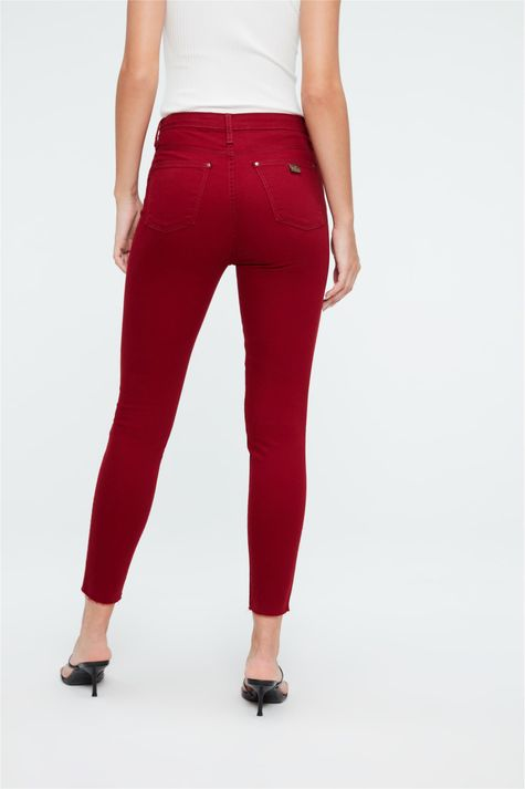 Calca-Jegging-Color-com-Barra-Cortada-Costas--