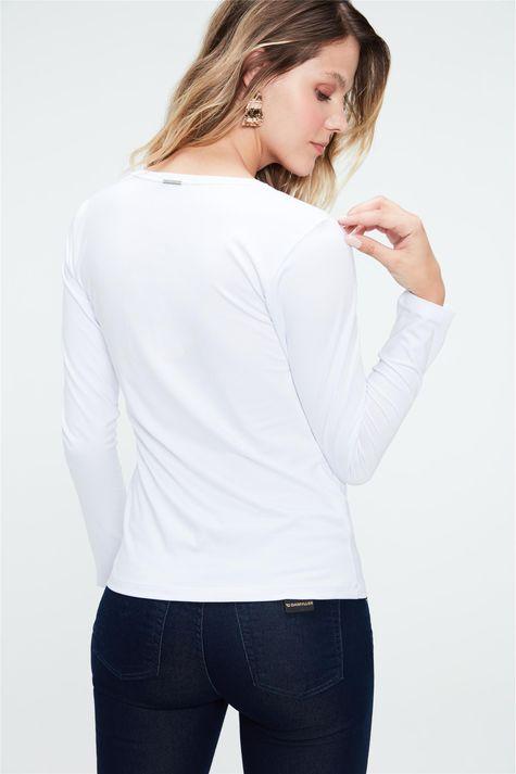 Camiseta-Manga-Longa-Decote-V-Feminina-Costas--