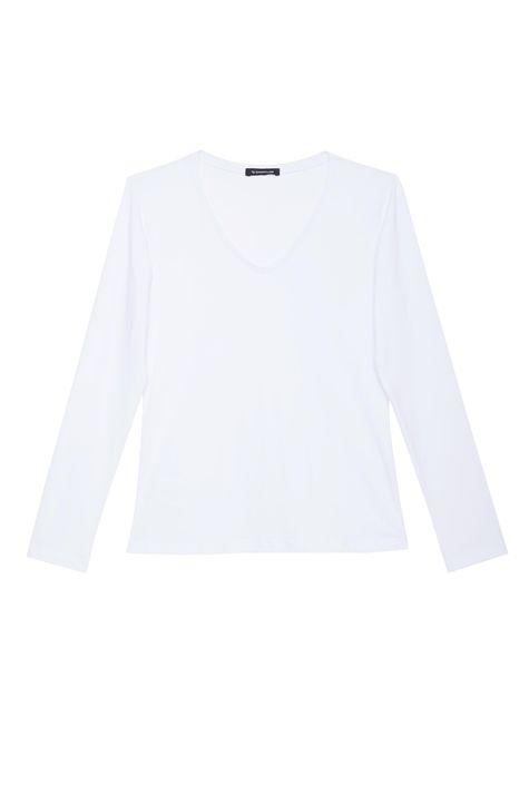 Camiseta-Manga-Longa-Decote-V-Feminina-Detalhe-Still--