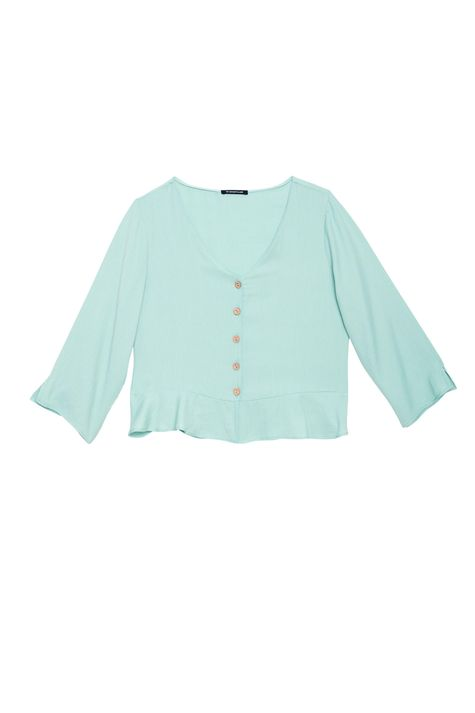 Camisa-Solta-com-Babado-Feminina-Detalhe-Still--