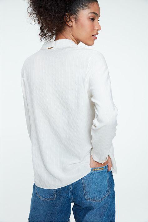 Camisa-Social-de-Listras-Feminina-Costas--