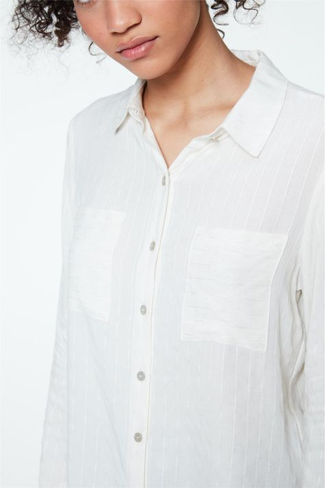 Camisa-Social-de-Listras-Feminina-Detalhe--