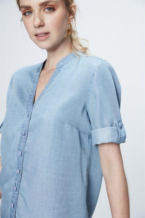 Camisa-Jeans-Manga-3-4-Feminina-Frente--