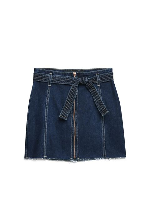 Saia-Jeans-Azul-Escuro-com-Ziper-Frontal-Detalhe-Still--