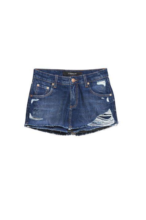 Short-Saia-Jeans-com-Destroyed-Detalhe-Still--