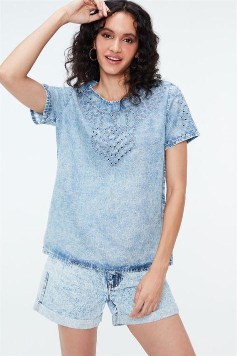 Camiseta-Jeans-Bleach-Costas--