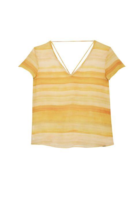 Blusa-com-Estampa-de-Listras-Amarela-Detalhe-Still--