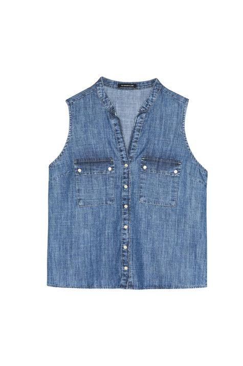 Camisa-Regata-Jeans-Feminina-Detalhe-Still--