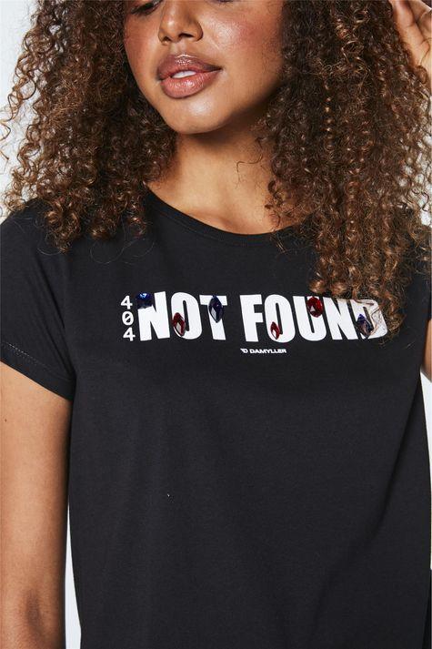 Camiseta-com-Estampa-Not-Found-Feminina-Frente--