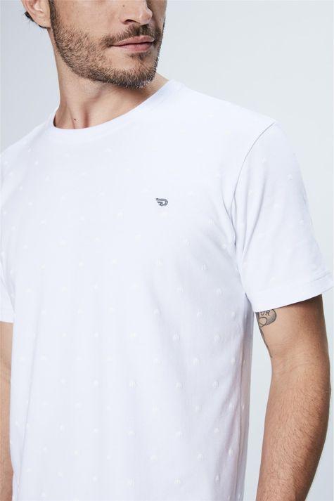 Camiseta-Estampa-de-Repeticao-Masculina-Frente--